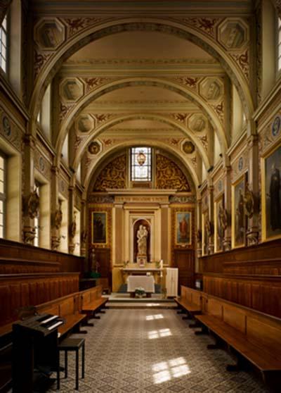 Le collège des Irlandais - La chapelle Saint-Patrick