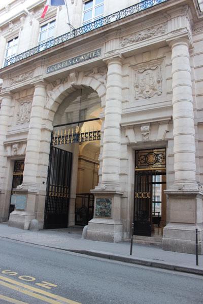 Le palais Cambon : il abrite la Cour des Comptes