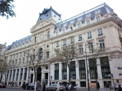 Le siège central du Crédit Lyonnais