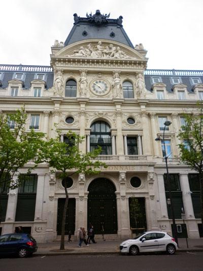 Le siège central du Crédit Lyonnais - Le pavillon central