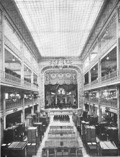 Les Grands Magasins Dufayel - Le Théâtre