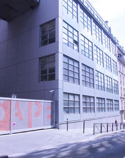 Ancien bâtiment industriel, rue Burnouf
