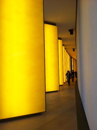 La Fondation LVMH - œuvre d'Olafur Eliasson