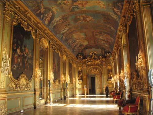 L'Hôtel de la Vrillière - La galerie Dorée