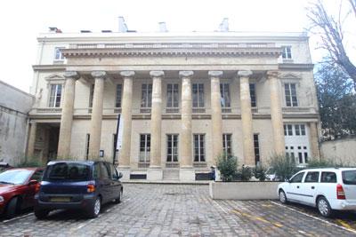 L'Hôtel de Gallifet - Façade sur cour