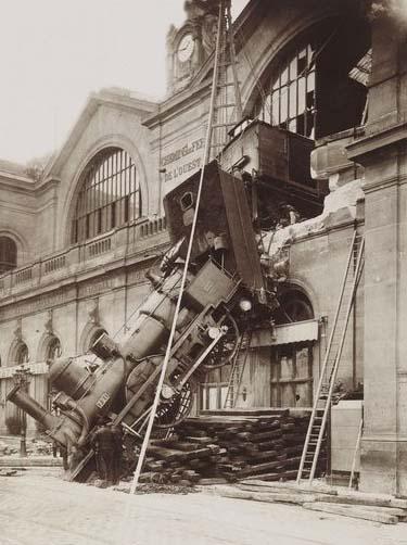 L'accident de la gare Montparnasse (1895)
