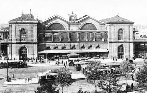 L'ancienne gare Montparnasse (1852)