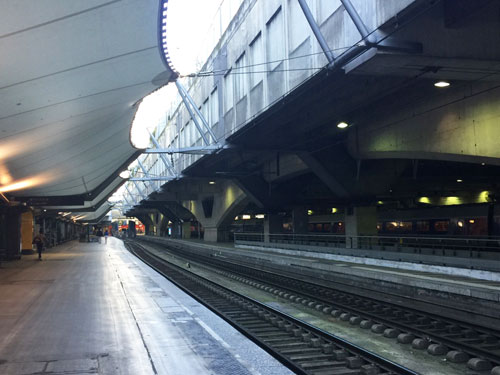 La gare Montparnasse