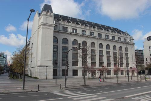 Les Grands Moulins de Paris - Façade sur le quai Panhard et Levassor