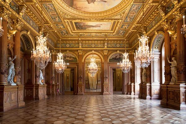 L'Hôtel de Ville : le salon Georges Bertrand