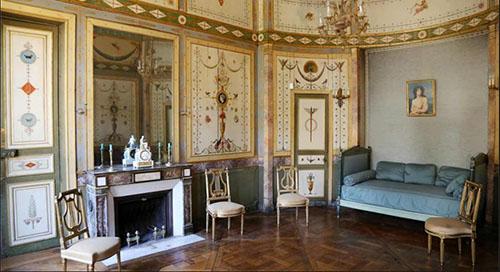 L'hôtel de Bourrienne - La chambre à coucher