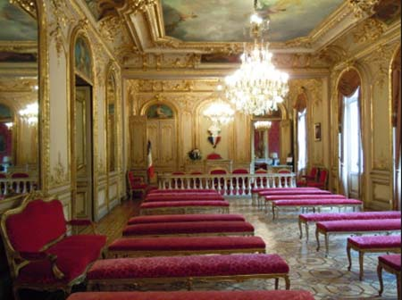 L' hôtel Cail - Un salon