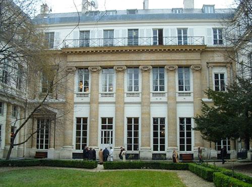 L'Hôtel de Gallifet - Façade sur jardin
