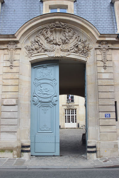 L'hôtel Gouffier de Thoix - Le portail