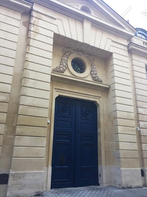L'Hôtel Lambert : le portail