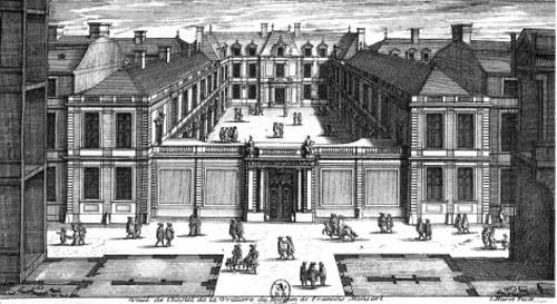 L'Hôtel de la Vrillière - Gravure de Jean Marot