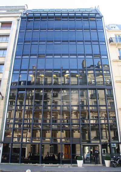 Immeuble de bureaux, rue Jouffroy d'Abbans