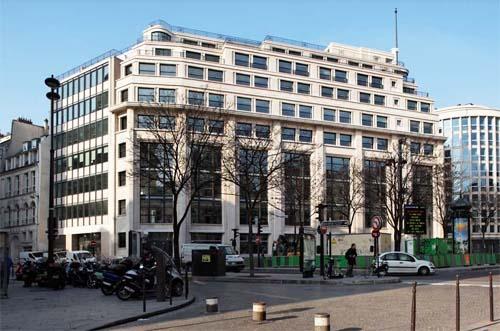 L'immeuble de Paris-Midi et de Paris-Soir