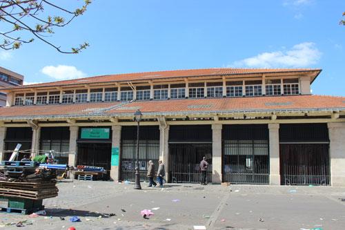 Le marché Beauvau