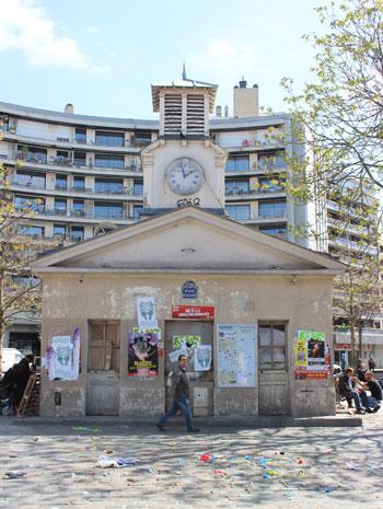 Le marché Beauvau - Pavillon de garde
