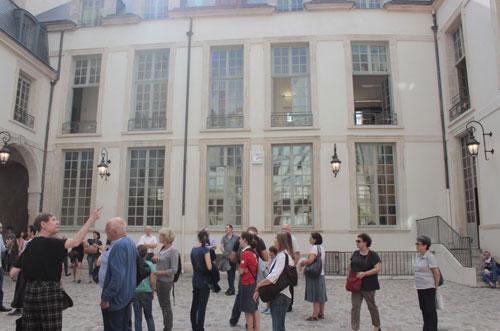 L'hôtel de Mayenne - Façade sur cour