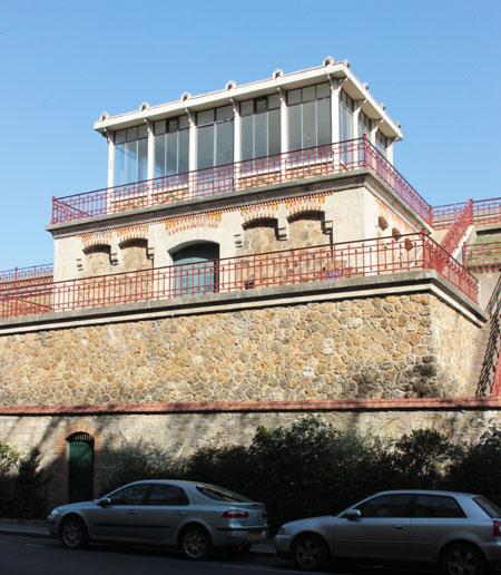 Le réservoir de Montsouris - Pavillon