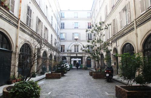 Le passage Delanos - 2e cour