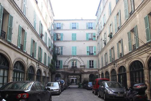 Le passage Delanos - Première cour