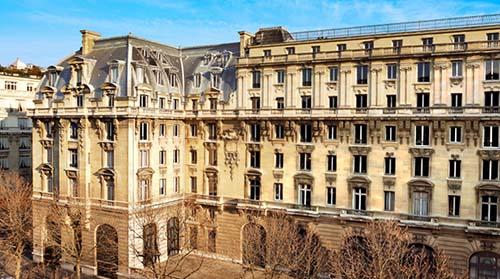 L'ancien hôtel Majestic - Hôtel The Péninsula Paris