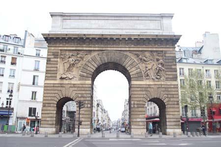 La Porte Saint-Martin