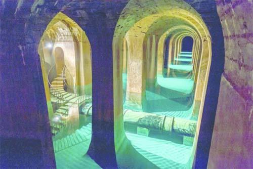 Le réservoir de Montsouris
