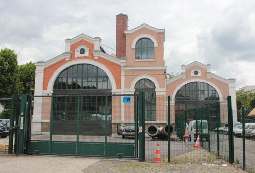 L'usine de la SAGEP - Les 3 nefs