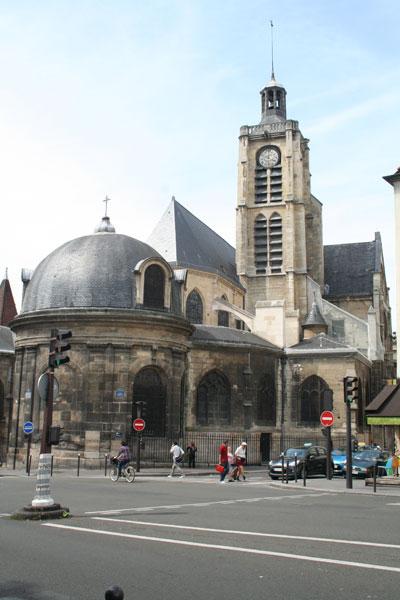 L'église Saint-Laurent - La chapelle axiale