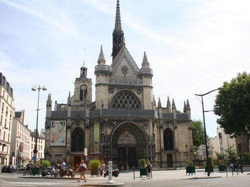 L'église Saint-Laurent - La façade