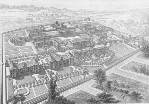 L'hôpital Sainte-Anne sous le Second Empire