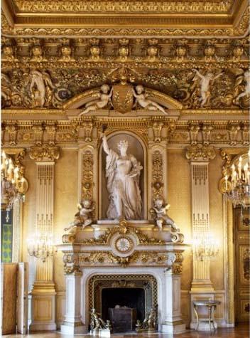 Le Quai d'Orsay - Le salon de l'horloge