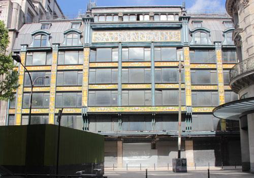 Les Grands Magasins de la Samaritaine - Le magasin 2, partie Art nouveau