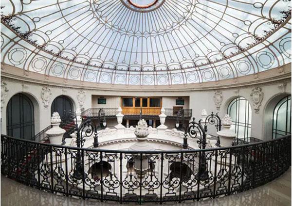 Le siège central du Crédit Lyonnais : la coupole