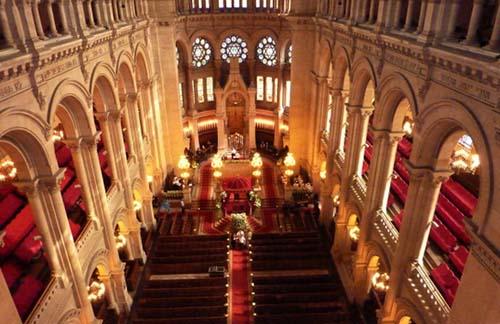 La synagogue de la rue de la Victoire - La nef