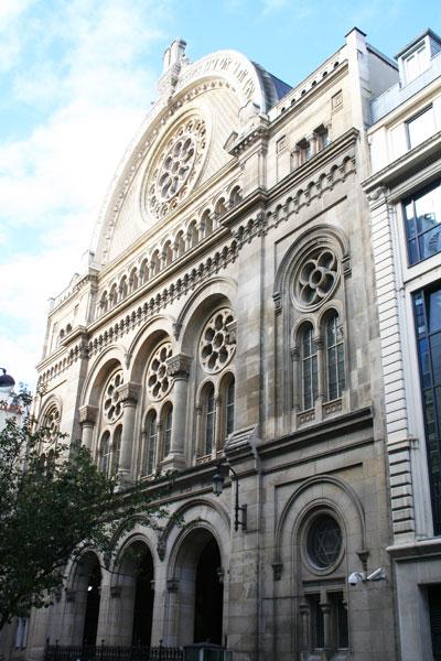 La synagogue de la rue de la Victoire