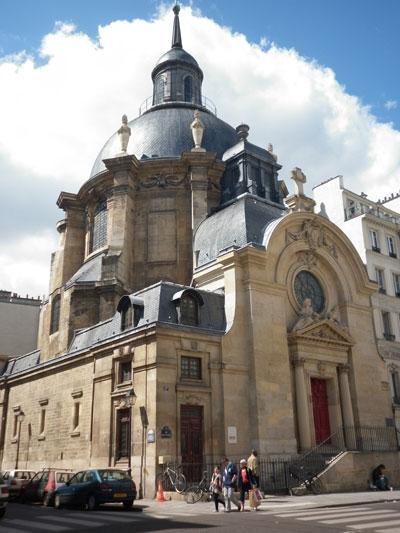 Le temple de la Visitation Sainte-Marie
