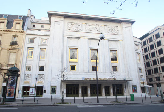 Le théâtre des Champs-Elysées