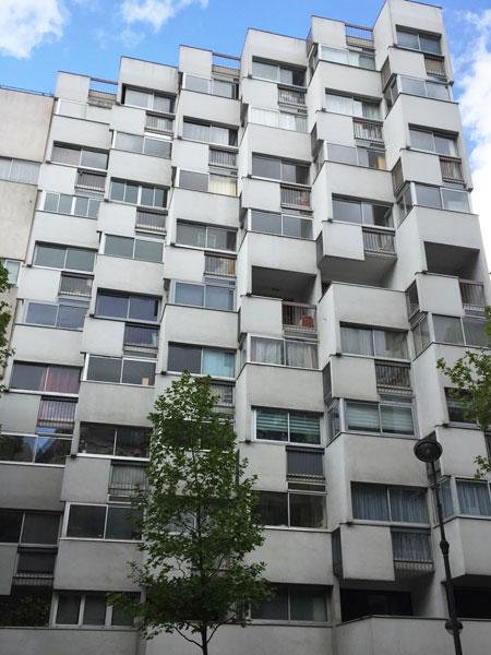immeuble de logements rue des Pyrénées