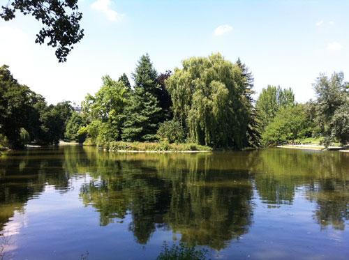 Le lac de Saint-Mandé