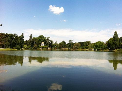 Le lac de Daumesnil