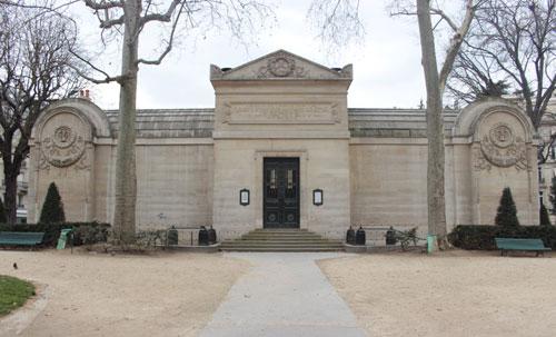 La chapelle expiatoire - L'entrée