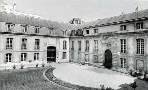 L'hôtel de Rohan : la cour des écuries