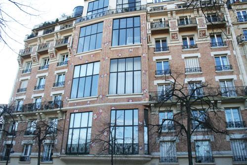 Habitations et ateliers d'artistes, rue Froidevaux