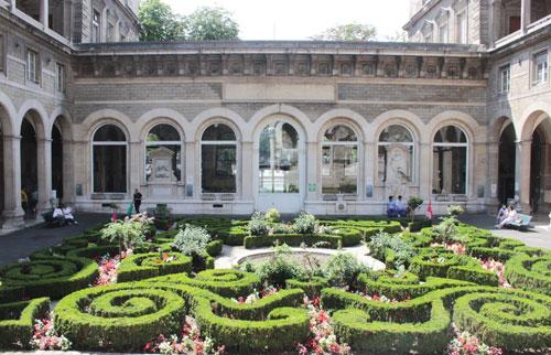 Hôpital l'hôtel-Dieu - Le jardin à la Française