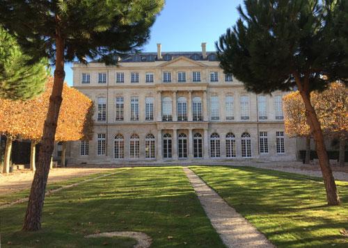 L'hôtel de Rohan : la façade sur le jardin
